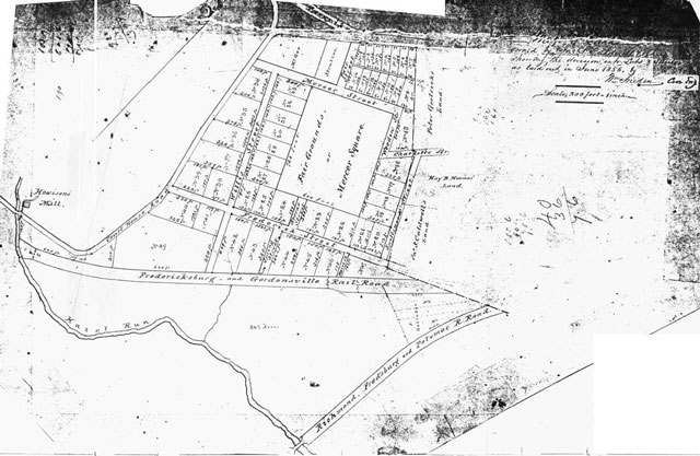 Caldwell Tract - 1856