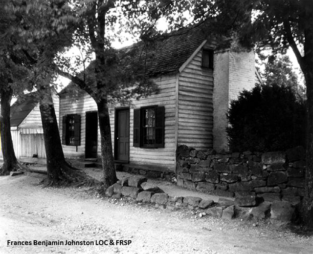 Photo #1. A 1927 photograph by Frances Benjamin Johnston.