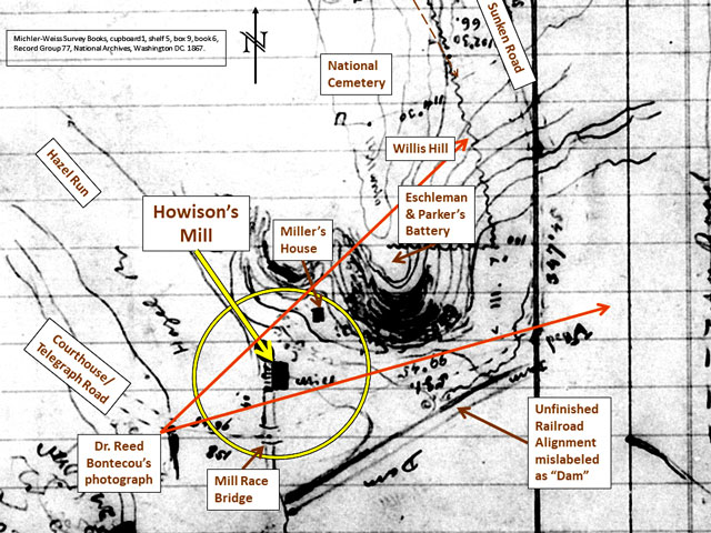 1867 Michler-Weyss survey notes
